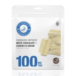 White Chocolate Cookies N Cream Minis – 100mg